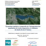 Rapport truite lacustre Annecy 2015